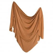 Camel Knit Blanket Single by Copper Pearl
