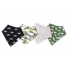 Safari Bandana Bib Set