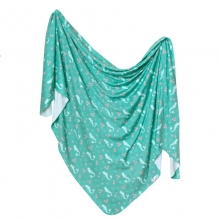Coral Knit Blanket Single