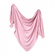 Lucy Knit Swaddle Blanket by Copper Pearl