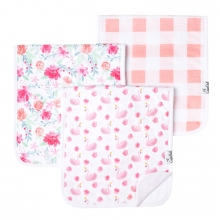 June Premium Burp Cloths by Copper Pearl