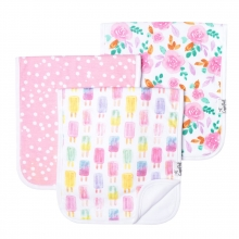 Summer Premium Burp Cloths by Copper Pearl