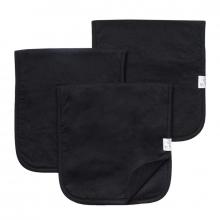 Black Basics Premium Burp Cloths