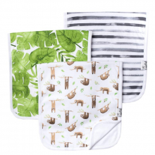 Noah Premium Burp Cloths by Copper Pearl