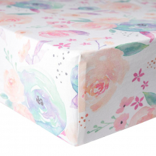 Bloom Premium Crib Sheet by Copper Pearl in Victoria BC