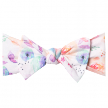 Bloom Knit Headband Bow by Copper Pearl