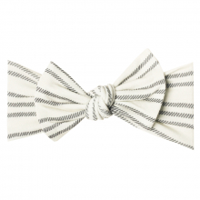 Midtown Knit Headband Bow by Copper Pearl