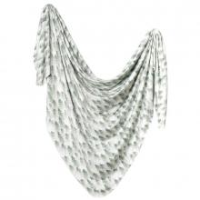 Evergreen Knit Swaddle Blanket