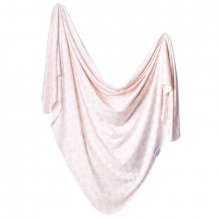 Lola Knit Swaddle Blanket by Copper Pearl
