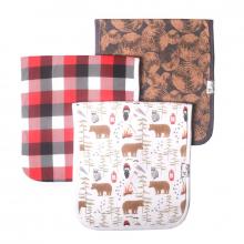 Lumberjack Premium Burp Cloths
