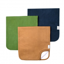 Ridge Premium Burp Cloths by Copper Pearl