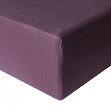 Plum Premium Crib Sheets by Copper Pearl