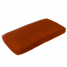 Rust Diaper Changing Pad Covers