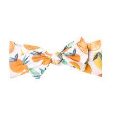 Citrus Knit Headband Bow