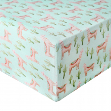 Cusco Premium Crib Sheet by Copper Pearl