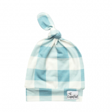 Lincoln Baby Top Knot Hat