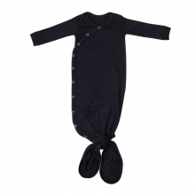 Midnight Knotted Gown 0-4mo
