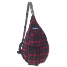 Mini Plaid Rope Bag by KAVU
