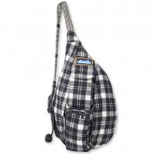 Mini Plaid Rope Bag