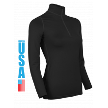 Women's Heavyweight Zip Mock