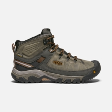 Men's Targhee III Mid Leather WP by Keen in Iowa City IA