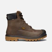 "Men's Baltimore 6"" 600G Insulated Waterproof Boot (Steel Toe) by Keen"