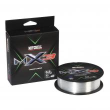 MX3 Mono | 165yd | 150m | 10.6lb | 4.8kg | Model #MAVS025-CL MIT MX3 CLR MONO 0.25 150M