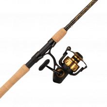 Spinfisher VI Combo | 1 | 4500 | Full | 7' | Medium | 6.2:1 | 10-17lb | Extra Fast | Cork | Model #SSVI4500701M