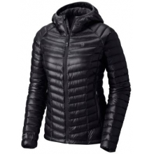 Women's Ghost Whisperer Hooded Down Jacket by Mountain Hardwear in Cold Lake Ab