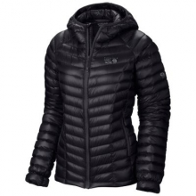 Women's Ghost Whisperer Hooded Down Jacket by Mountain Hardwear in Denver Co