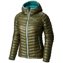 Women's Ghost Whisperer Hooded Down Jacket by Mountain Hardwear in Madison Al