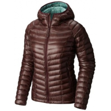 Women's Ghost Whisperer Hooded Down Jacket by Mountain Hardwear in Coeur Dalene Id