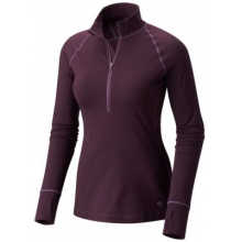 Women's Butterlicious Long Sleeve 1/2 Zip by Mountain Hardwear in Arcata Ca
