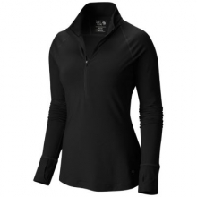 Women's Butterlicious Long Sleeve 1/2 Zip by Mountain Hardwear