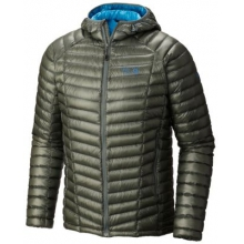Men's Ghost Whisperer Hooded Down Jacket by Mountain Hardwear in Madison Al