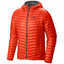 Men's Ghost Whisperer Hooded Down Jacket by Mountain Hardwear in Manhattan Ks