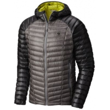 Men's Ghost Whisperer Hooded Down Jacket by Mountain Hardwear in Milford Oh