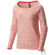 Women's Burned Out Long Sleeve Pullover