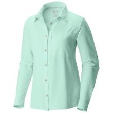 Women's Canyon Long Sleeve Shirt by Mountain Hardwear in Fairbanks Ak