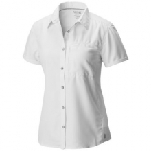 Women's Canyon Short Sleeve Shirt by Mountain Hardwear in Manhattan Ks