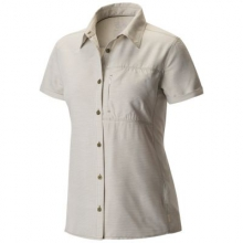 Women's Canyon Short Sleeve Shirt by Mountain Hardwear in Fairbanks Ak