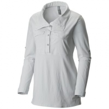 Women's Citypass Long Sleeve Popover by Mountain Hardwear in Costa Mesa Ca