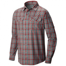 Men's Canyon Plaid Long Sleeve Shirt by Mountain Hardwear