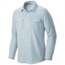 Men's Canyon Long Sleeve Shirt by Mountain Hardwear in Red Deer Ab