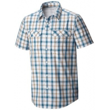 Men's Canyon Plaid Short Sleeve Shirt by Mountain Hardwear