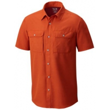 Men's Canyon Short Sleeve Shirt by Mountain Hardwear in Ann Arbor Mi