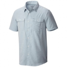 Men's Canyon Short Sleeve Shirt by Mountain Hardwear in Red Deer Ab