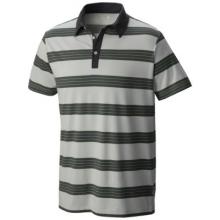 Men's ADL Striped Short Sleeve Polo by Mountain Hardwear in Columbus Ga