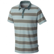 Men's ADL Striped Short Sleeve Polo by Mountain Hardwear in Chesterfield Mo