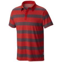 Men's ADL Striped Short Sleeve Polo by Mountain Hardwear in Birmingham Al